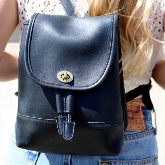 Coach Handbags - Coach | Vintage Leather Backpack